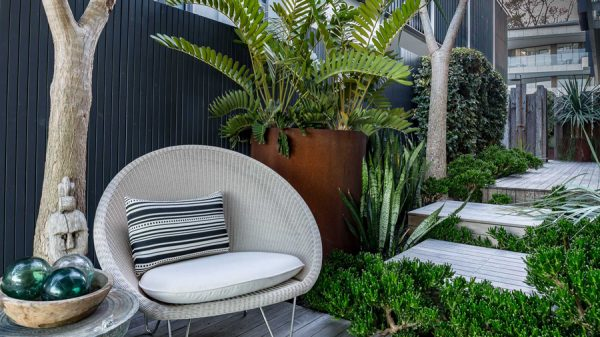 Relax in your beautifully design outdoor garden
