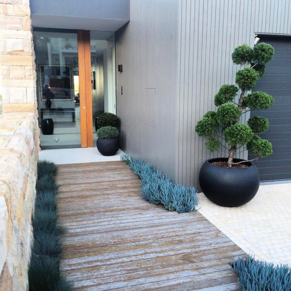 An example of landscaping unearthed's seamless design integration with your home