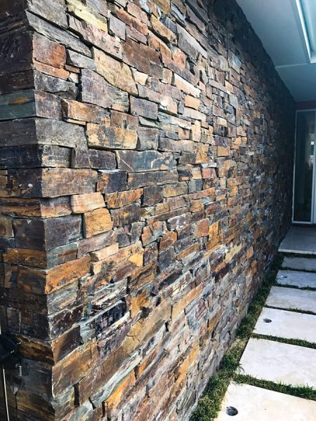 Designers of beautiful Stone Cladding Entryway and Feature Doorways on the Central Coast NSW